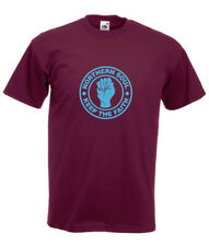 Northern Soul Keep the Faith Burgundy T-SHIRT