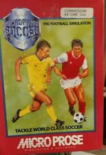 Microprose Soccer (1988) Commodore C64 Kassette (Box, Tape, Manual) 100 % ok