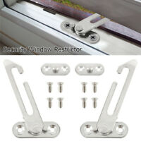 Window Restrictor Safety Locking UPVC Child Security Catch Left Right Handed