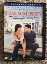 Chasing Liberty (DVD, 2004, Widescreen) Mandy Moore, Matthew Goode