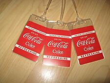 Coca Cola Luggage Tags - Coke Soda Pop Playing Cards Suitcase Name Tag Set (3)