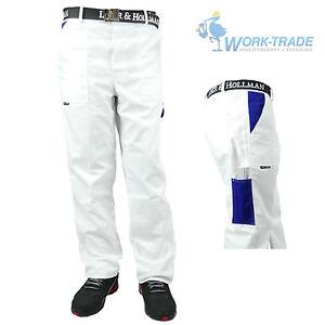 Arbeitshose Bundhose Malerhose Arbeitskleidung Weiß Gr. 46 - 62 NEU