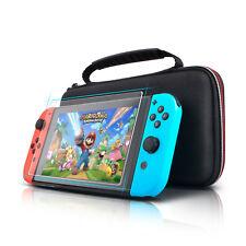 Für Nintendo Switch Tasche Bag EVA Hülle Schutzhülle Case + Panzerglas Folie