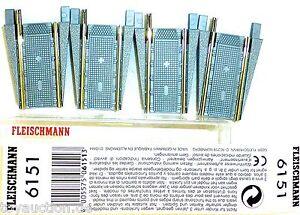 Two Piece fleischmann 6151 Supplemental for 6150 New Boxed 1:87 H0 #LD5 Μ