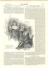 1894 Marshall madera en su estudio II escultura Gladstone Andrew Clark paciente