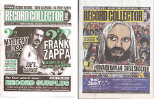 Record Collector News - 2 issues Frank Zappa, Kaylan Tommy Flanagan, Jaki Byard