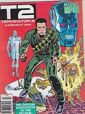 1991 TERMINATOR 2 JUDGEMENT DAY marvel comic movie magazine #1