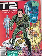 1991 TERMINATOR 2 JUDGEMENT DAY marvel comic movie magazine #1