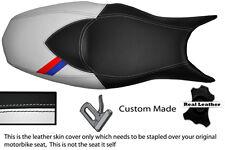 BLACK & WHITE CUSTOM M3 STRIPE FITS BMW F 800 R F 800 S F 800 ST SEAT COVER