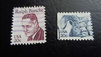 USA, Stamps, 1982, Mi-Nr.: 1523 + 1524, 1 Satz gestempelt