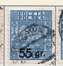 Poland 1929-38 Early Issue Fine Used 55g. Surcharged 190911