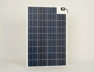 Marine Semi-Flexible Solar Panel Sunware SW-20185 100W/12V for boats & yachts