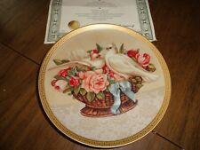 Romance In Bloom Gloria Vanderbilt Heirloom Collector Plate