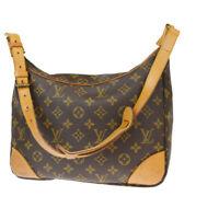Auth Louis Vuitton Monogram Boulogne 30 M51265 Shoulder Bag Monogram 30GA889