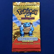 Pokemon Expedition Booster Pack New Factory Sealed (Blastoise)