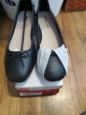 American Eagle 166687 WW Addison flat dress shoes, 10W, Black, NWB