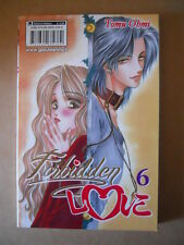 FORBIDDEN LOVE Vol.6 Tomu Ohmi 2012 ed. Gp Manga [G688]