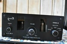 dynavox TPR 3 VACUUM TUBE STEREO PREAMPLIFIER EX CONDITION