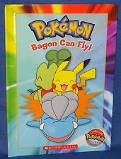 Pokemon Master's Book Club Childs Book Bagon Can Fly! New Scolastic 2005