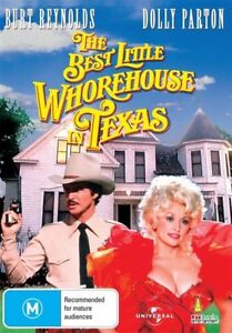The Best Little Whorehouse In Texas (DVD) Dolly Parton NEW/SEALED