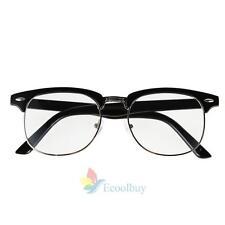 New Designer Retro Clear Lens Nerd Frames Glasses Mens Womens Eyewear Fashion