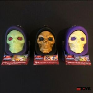Mega Construx- MASTERS OF THE UNIVERSE Skeletor Skulls He-Man Fisto Trap Jaw LOT