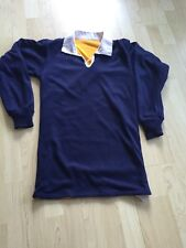 Reversible Blue/Amber Rugby Shirt