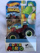 Hot Wheels Monster Trucks Super Mario Yoshi 2020 (NIB R2S)