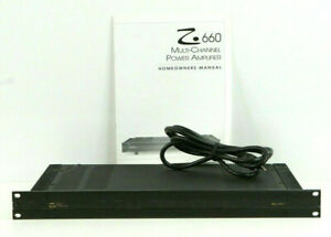 Elan Z660/ Z661 Amplifier 6 Channel Power Amp (Rack Version) TESTED h397
