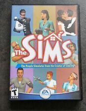 The Sims 1 Original PC Game EA Games 2000 Simulation DVD Case 'People Simulator'