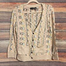 Buckle Daytrip Large Multi Color V Neck Button Down Cardigan With Pockets