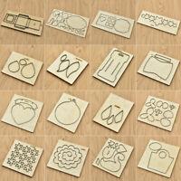 Wooden Leathercrafts Leathercraft Tools Cutting Wood Mold Cut Mould Craft DIY