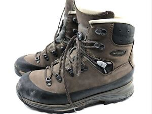Lowa Baffin Pro Womens US 8 EU 40 Hiking Boots Backpacking Shoes Brown Leather