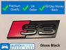 Audi S3 Gloss Black Grille Badge Emblem Grill