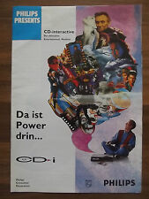 Philips CD-interactive CD-i Flyer, Werbung, Heft