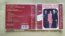 CHET BAKER - LIVE AT PUEBLO, COLORADO. 1966. CD