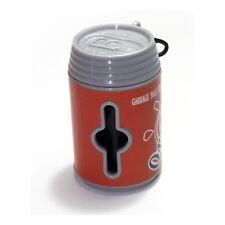 Dispensador de bolsas higienicas recogedor lata bote para excrementos perro gato
