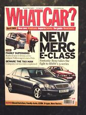 WHAT CAR? MAGAZINE APR-2002 - Nissan X-Trail, Citroen Picasso, BMW 745i, Corolla