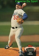 349  TIM CREWS  LOS ANGELES DODGERS TOPPS BASEBALL CARD STADIUM CLUB 1992
