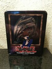 Blue Eyes White Dragon Kaiba Collectors Tin Box Yugioh 2003 EMPTY ONLY LOB MRD