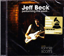 JEFF BECK performing this week... CD NEU OVP/Sealed