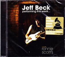 JEFF BECK performing this week... CD NEU OVP/Sealed