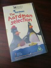 The Aardman Selection   VHS Video Tape (NEW SEALED)