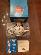 Dr Seuss Hallmark Fish In The Pot Collectible Porcelain Figurine from Cat In Hat