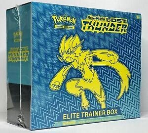 Pokémon Lost Thunder Elite Trainer Box (x1) Factory Sealed! Mint Condition!