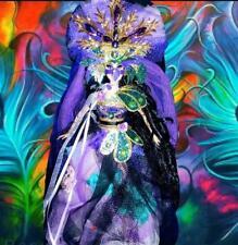 Peacock Masquerade Beauty Enchanting ~ Barbie doll OOAK Dakotas Song