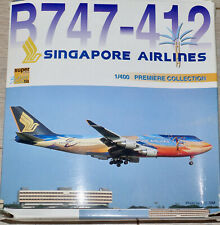 Dragon Wings - Singapore Airlines Boeing 747-412 Tropical Megatop 1:400 55119-03