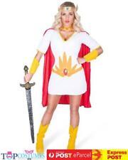 She Ra She-Ra Princess Power Masters Of The Universe Superhero Costume
