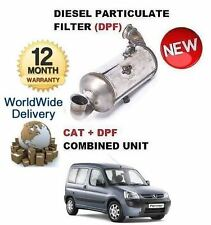 FOR PEUGEOT PARTNER 1.6HDI 2008-> DIESEL PARTICULATE DPF & CAT CATALYTIC FILTER