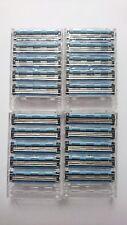 Neu 20 Rasierklingen kompatibel zu Gillette Sensor Excel Rasierern